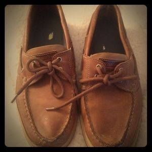 Sebago Docksider boat shoes sz 8 1/2